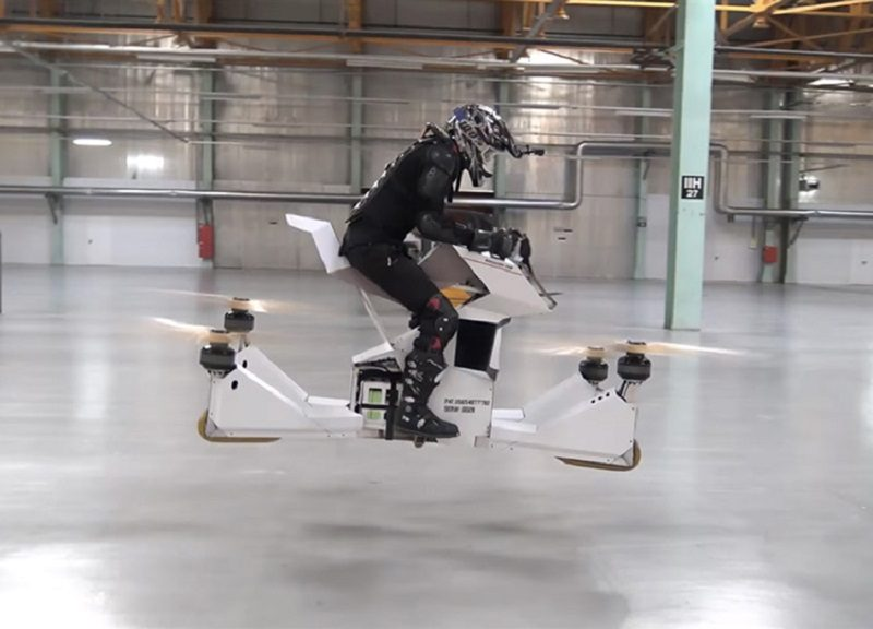 scorpion-3 hoverbike