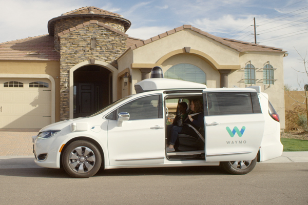 waymo google self driving car